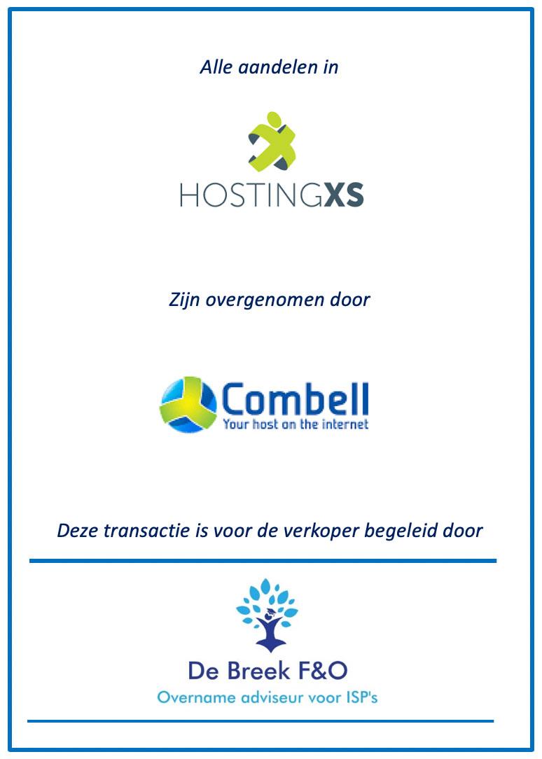 Overname XS hosting