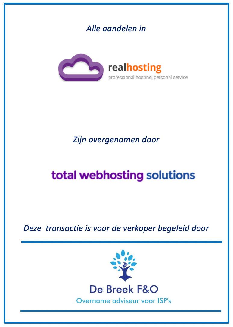 Overname realhosting